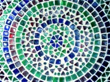 Blue Mosaic by ninjatabby, photography->sculpture gallery
