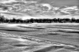 A Cold Winter Sunset B&W by tigger3, contests->b/w challenge gallery