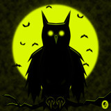 Spook Owl by Jhihmoac, illustrations->digital gallery