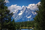 In The Grand Tetons by gr8fulted, photography->mountains gallery