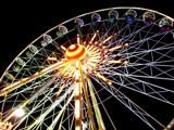 Illuminated wheel by mausi2541, Photography->City gallery