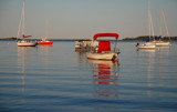 red, white and blue boats by solita17, Photography->Boats gallery