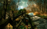 Path with a Fence by casechaser, photography->manipulation gallery