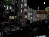 Delfshaven after dark by rvdb, photography->manipulation gallery