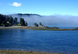 Here comes the fog... by PamParson, Photography->Shorelines gallery