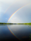 Rainbow above Ihalanjärvi by sirpa, Photography->Skies gallery