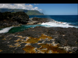 lava rocks at queens bath by jeenie11, photography->shorelines gallery