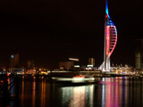 Spinaker At Night by phixer64, Photography->City gallery