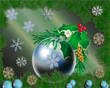 Green Christmas by Frankief, Holidays->Christmas gallery