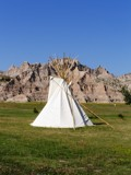 Tepee in the Badlands by Gergie, photography->landscape gallery