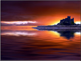 Sunrise at Bamburgh Castle by shedhead, Photography->Manipulation gallery