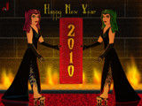 2010 - Happy New Year by Jhihmoac, Illustrations->Digital gallery