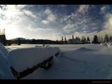 zakopane skies [fisheye] by jzaw, Photography->Landscape gallery