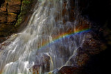 Hareshaw Rainbow by biffobear, photography->waterfalls gallery
