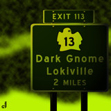 AU Road Sign - Exit 113 by Jhihmoac, illustrations->digital gallery