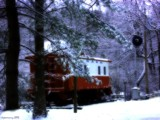 Winter Caboose by jojomercury, photography->trains/trams gallery