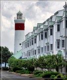 Lighthouse and Condos by Jimbobedsel, photography->lighthouses gallery