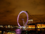 London Eye at night by brasiu69, Photography->Architecture gallery