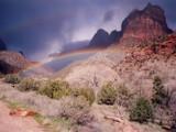 Zion Rainbow #1 by DeathScytheG, Photography->Landscape gallery