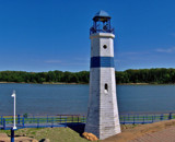 Lighthouse On River Front by Joanie, Photography->Lighthouses gallery
