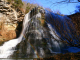 Burgess Falls in December - 2 by charlescurtis, photography->waterfalls gallery