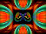 Orange Nebula by Flmngseabass, abstract gallery