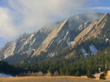 Foggy Flatirons by Yenom, Photography->Mountains gallery