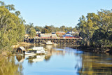 Echuca Wharf From Upstream by flanno2610, photography->water gallery