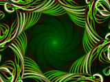 Spiraled Jungle by Joanie, Abstract->Fractal gallery