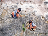 Boys On a Castle Wall by DigitalFX, photography->people gallery