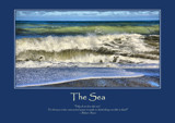 The Sea Poster by LynEve, photography->shorelines gallery