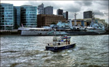 Revisited - Policing the Thames by LynEve, photography->boats gallery