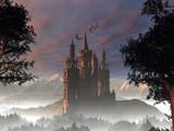 My Fantasy Castle in the Alps by DigitalFX, Computer->Landscape gallery