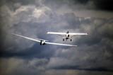 Dark blue yonder by alharkrader, Photography->Aircraft gallery