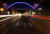 Light trails on M66 by stylo, photography->bridges gallery