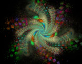 Rainbow Bubbles - For Pat by jswgpb, Abstract->Fractal gallery