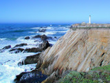 Point Arena by doubleheader, Photography->Lighthouses gallery