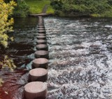 Stepping Stones by WTFlack, photography->water gallery