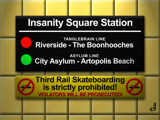 Insanity Square Station by Jhihmoac, illustrations->digital gallery