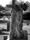 Magnolia Cemetery 1 by froggiebelle, Photography->Sculpture gallery