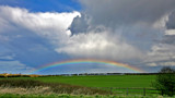 rainbow near holy island by jeenie11, Photography->Landscape gallery