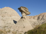 Thors Hammer In the Badlands. by Gergie, photography->landscape gallery