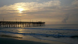 Sunrise, Surfside Beach Pier, South Carolina by CUTiger1989, photography->sunset/rise gallery