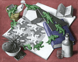 Colorized Escher 1 by MC Escher, Illustrations->Traditional gallery