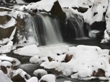 El Dorado Canyon Falls - Winter 01 by Yenom, Photography->Waterfalls gallery