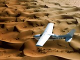 Skimming in the desert by ppigeon, Photography->Aircraft gallery