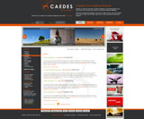 Caedes Website layout by Cain, Caedes gallery