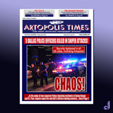 Artopolis Times - Dallas Shootings by Jhihmoac, illustrations->digital gallery