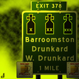 AU Road Signs - Exit 378 by Jhihmoac, illustrations->digital gallery