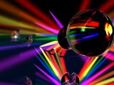 rainbow orbs by 411op, abstract gallery